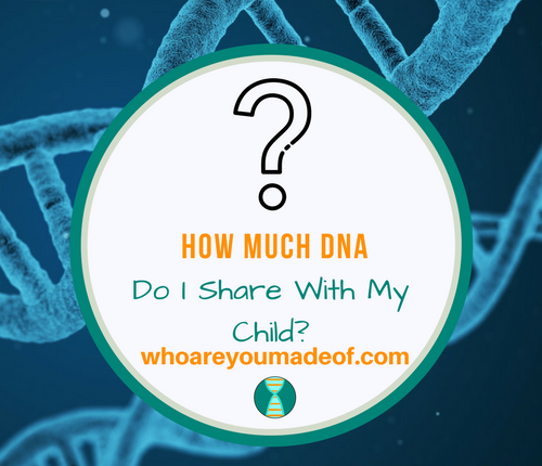 How Much DNA Do I Share With My Child_