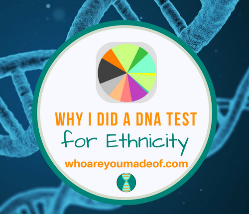 Why I Did a DNA Test for Ethnicity