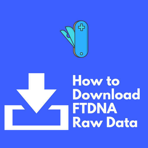 How to Download Raw DNA Data on Family Tree DNA