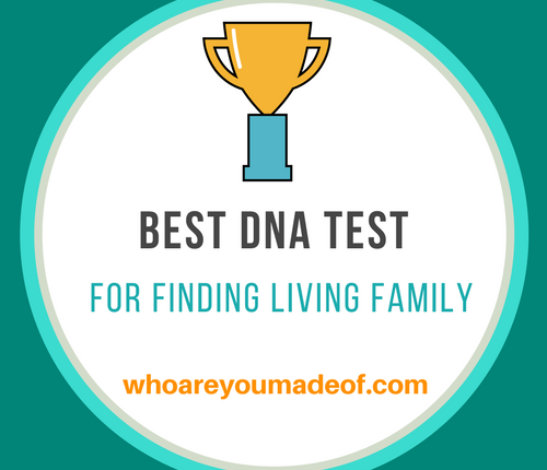 Best DNA test for finding living family