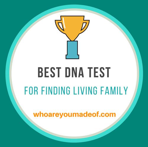 Best DNA test for finding living family