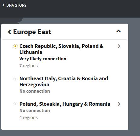 Eastern European Regions on Ancestry DNA