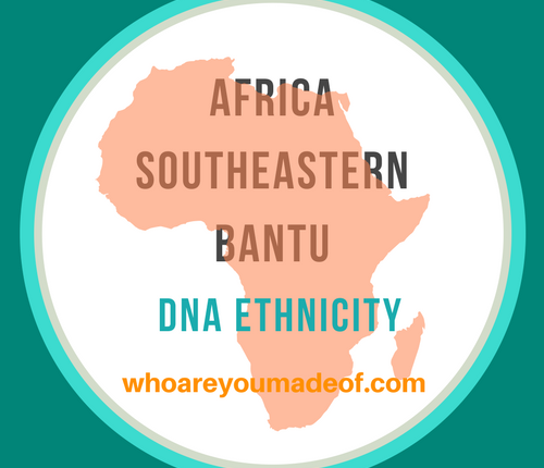 Africa Southeastern Bantu DNA Ethnicity