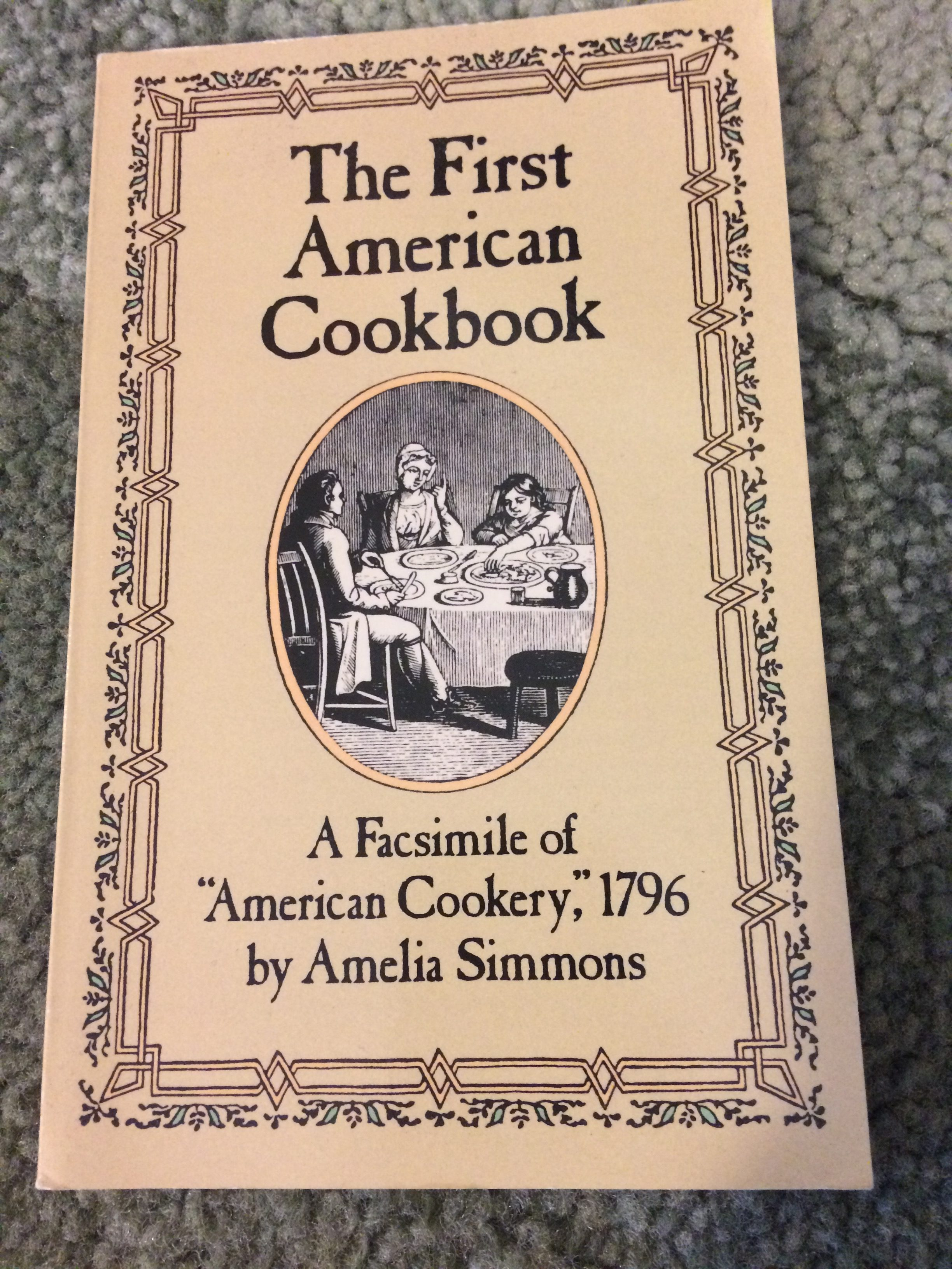 What was food like during colonial times in the US?
