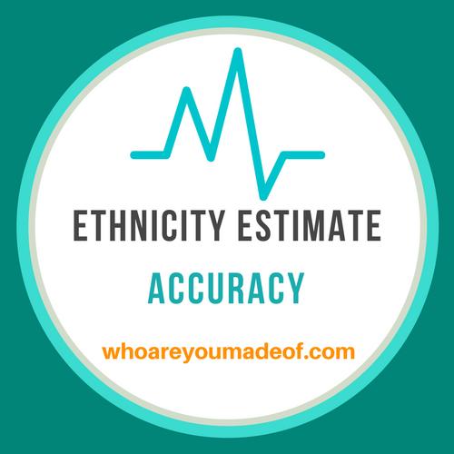 ethnicity estimate accuracy