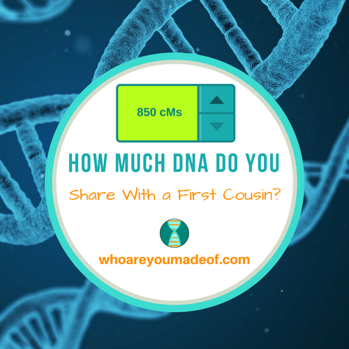 How Much DNA Do You Share With a First Cousin