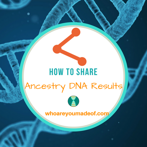 How to Share Ancestry DNA Results