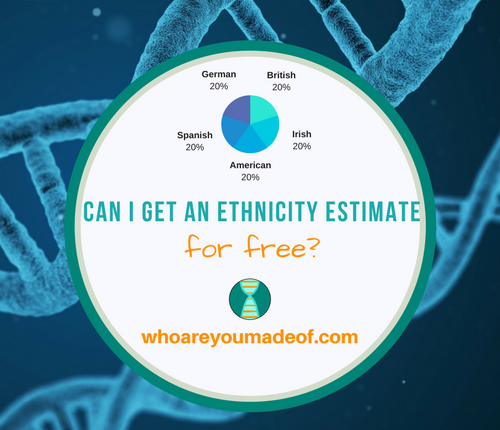 Can I Get an Ethnicity Estimate for Free?