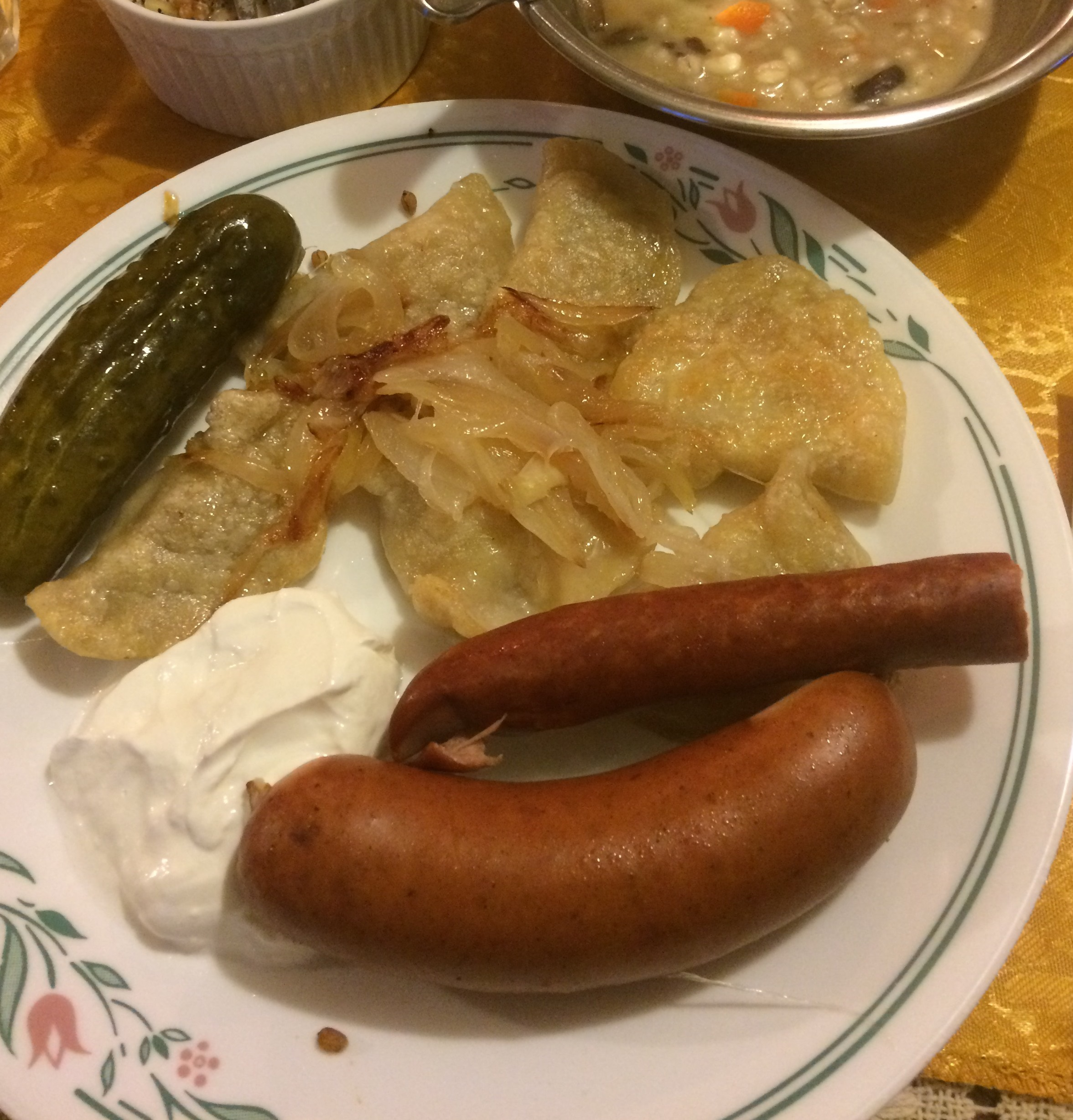 I made a traditional Wigilia dinner to celebrate my Polish DNA