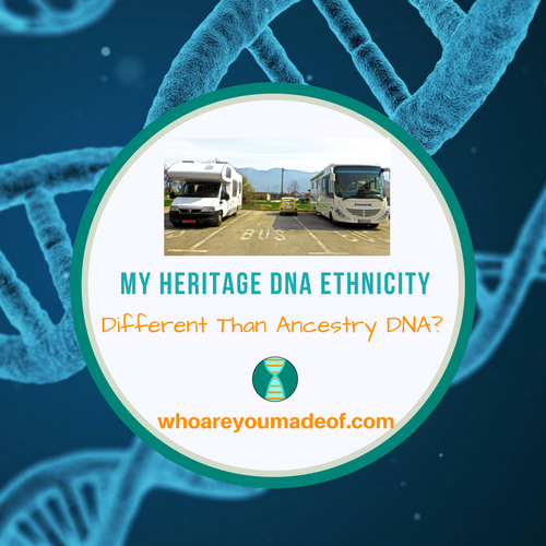 My Heritage DNA Ethnicity Different Than Ancestry DNA_