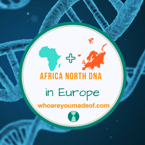 Africa North DNA in Europe