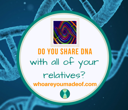 Do you share DNA with all of your relatives_