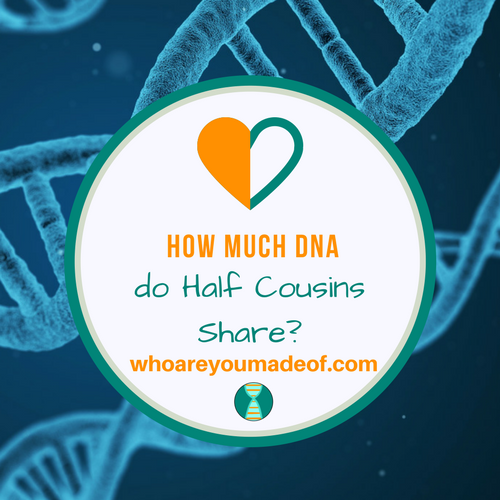 How Much DNA do Half Cousins Share?