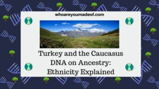Turkey and the Caucasus DNA on Ancestry Ethnicity Explained