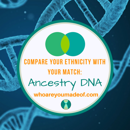 Compare Your Ethnicity With Your Match: Ancestry DNA