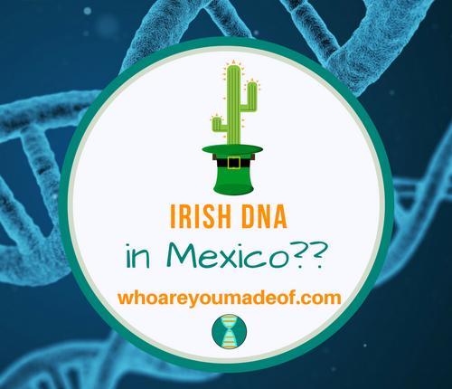 Irish DNA in Mexico_