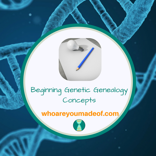 Beginning Genetic Genealogy Concepts