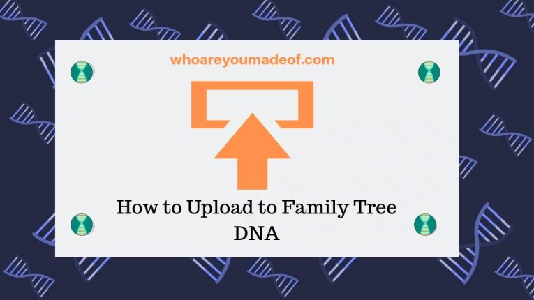 How to Upload to Family Tree DNA