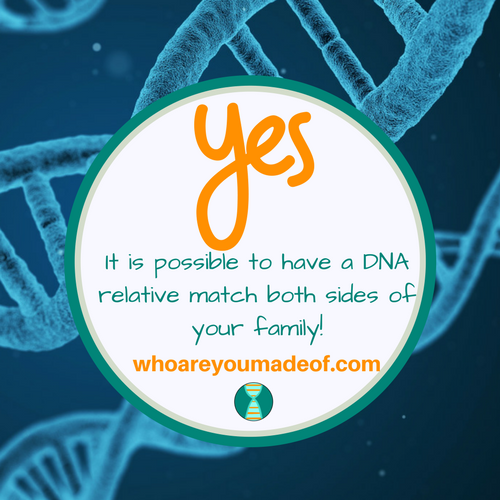 Is it Possible to Have a DNA Match Who Matches Both Sides of Your Family?