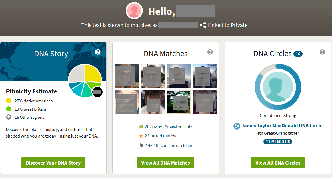 What you can see on Ancestry DNA without a subscription
