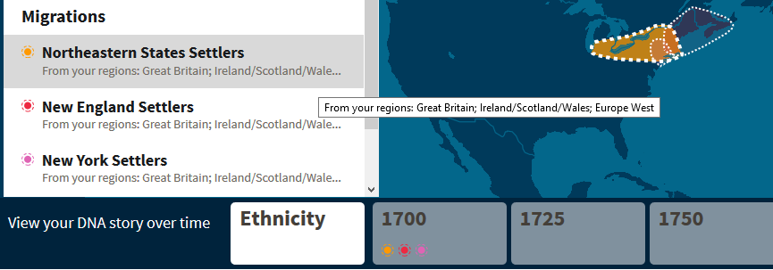 Example of Ancestry Migrations