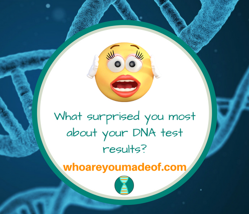 What surprised you most about your DNA test results_