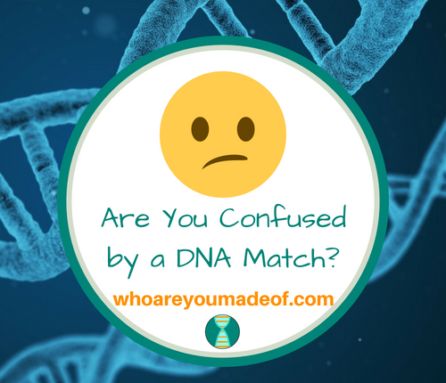Are You Confused by a DNA Match_