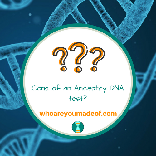 Cons of an Ancestry DNA Test?