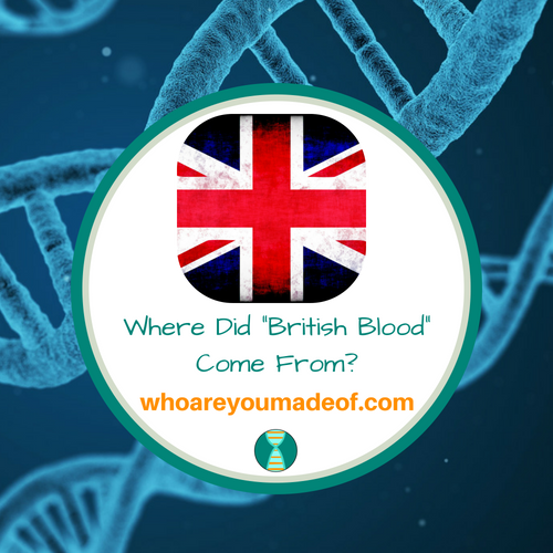 """Where Did """"British Blood"""" Come From?"""