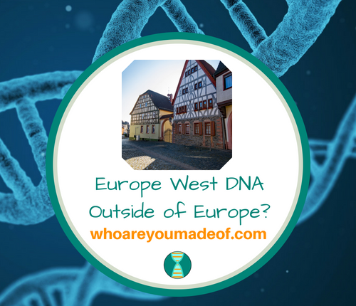 Europe West DNA Outside of Europe_