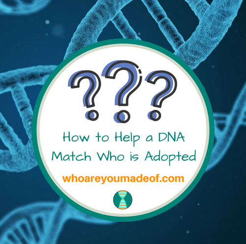 How to Help a DNA Match Who is Adopted