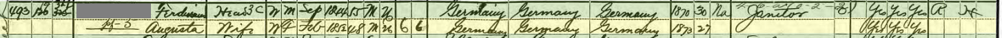 3rd great-grandfather was reported as a janitor on the census his entire life