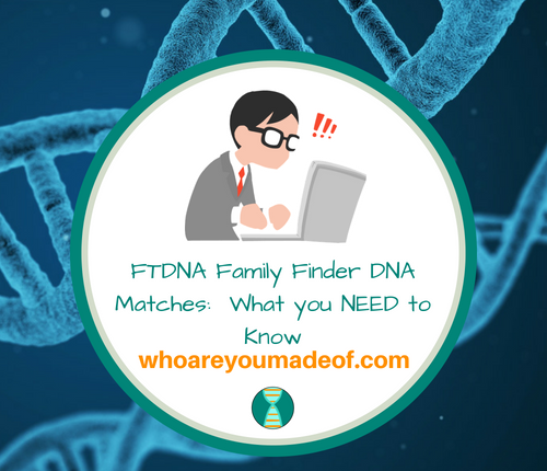FTDNA Family Finder DNA Matches_ What you NEED to Know