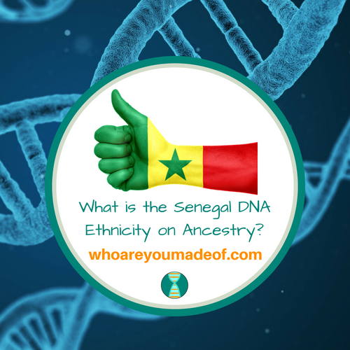 What is the Senegal DNA Ethnicity on Ancestry_