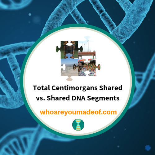 Total Centimorgans Shared vs. Shared DNA Segments