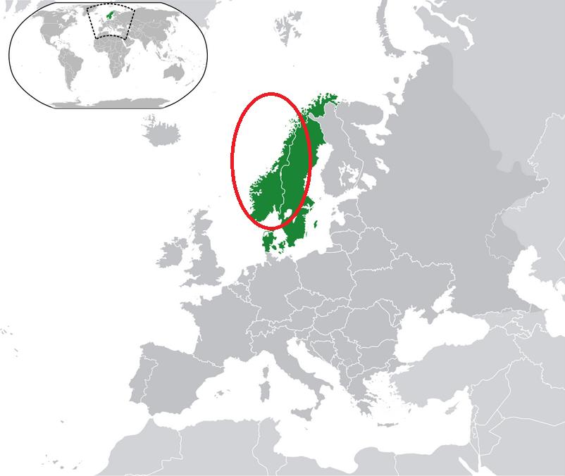 Norway DNA ethnicity region
