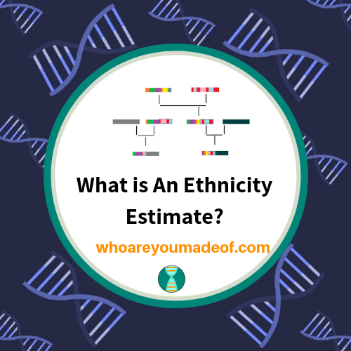 What is An Ethnicity Estimate?