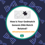 How is Your Gedmatch Genesis DNA Match Related?