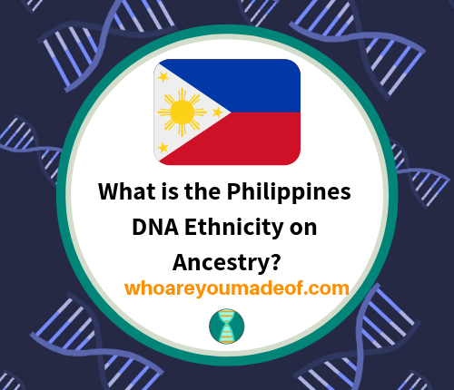 What is the Philippines DNA Ethnicity on Ancestry_