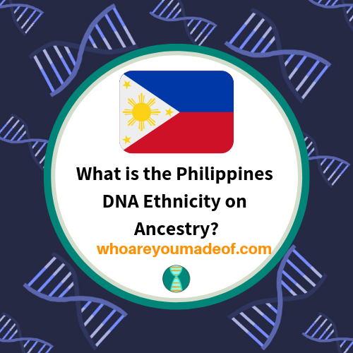 What is the Philippines DNA Ethnicity on Ancestry?