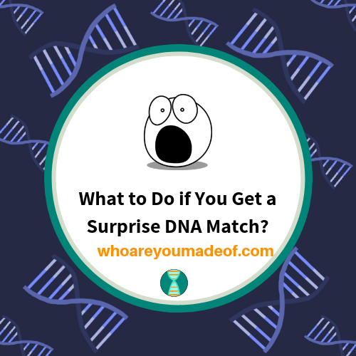 What to Do if You Get a Surprise DNA Match?