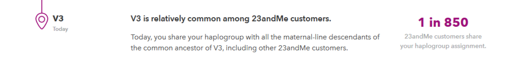 does 23andme give your mtdna haplogroup