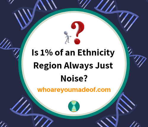 Is 1% of an Ethnicity Region Always Just Noise_