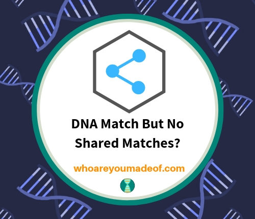 DNA Match But No Shared Matches_