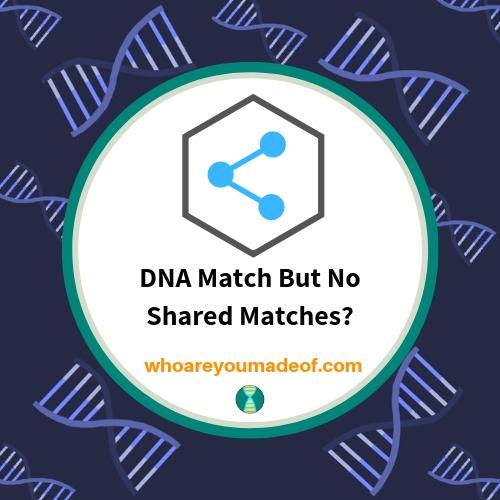 DNA Match But No Shared Matches_