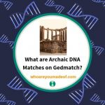 What are Archaic DNA Matches on Gedmatch_