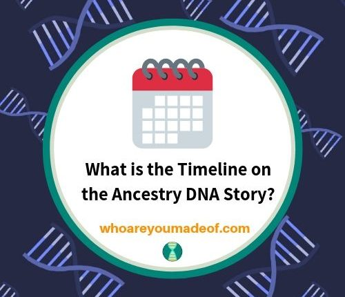 What is the Timeline on the Ancestry DNA Story_
