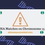 DNA Matches on Chromosome 15