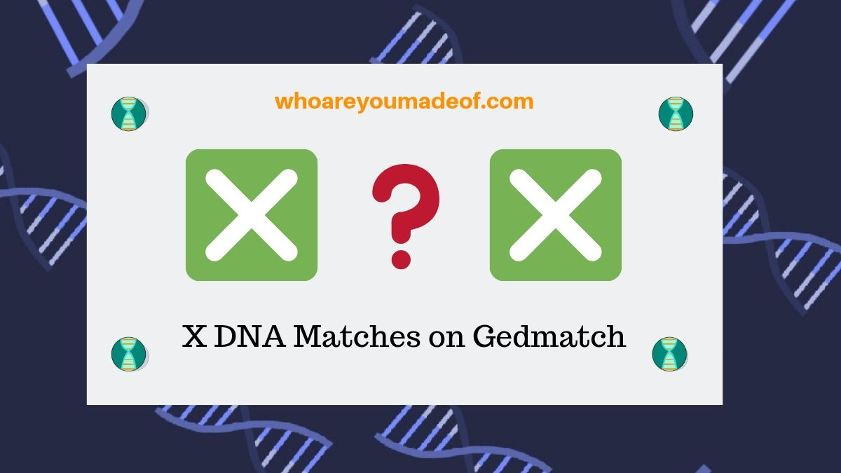 X DNA Matches on Gedmatch