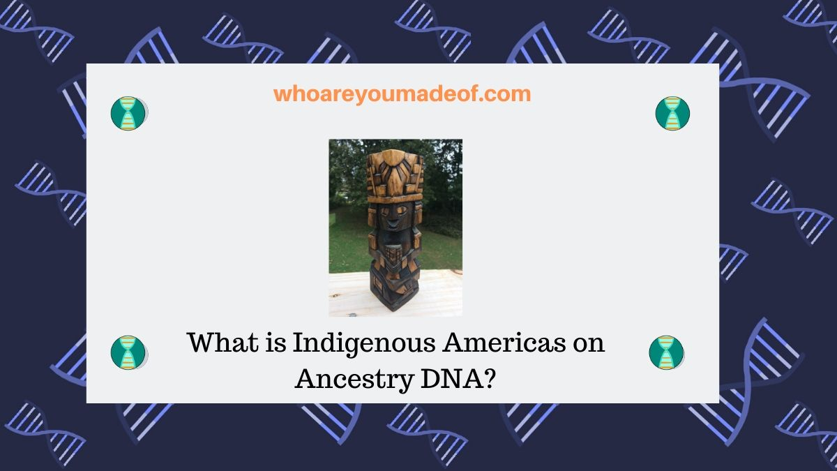 What is Indigenous Americas on Ancestry DNA?
